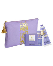 L'Occitane Iris Discovery Gift Set Purple