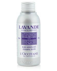 L'Occitane Lavender Foaming Bath 100ml (Travel Size)