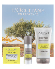 L'Occitane Cedrat Discovery Gift Set for Men