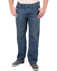 Lee Blake Regular Straight Leg Denim Blue