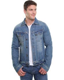 Lee Rider Jacket Blue