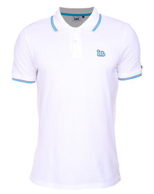 Lee 2 Step Polo White