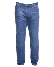 Lee Brooklyn Straight Leg Jeans Blue