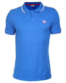 Lee 2 Step Polo Blue