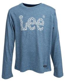 Lee Army Logo T-Shirt Blue