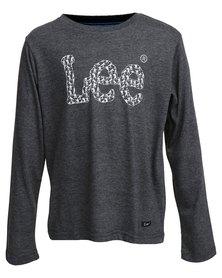 Lee Army Logo T-Shirt Grey