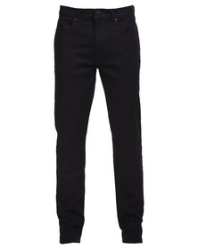 Lee Detroit Stretch Slim Leg Jeans Black