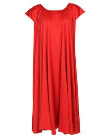 Leigh Schubert Philosophy Dress Red