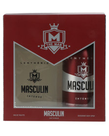 Lentheric Masculin Intense Deodorant 100ml and 150ml