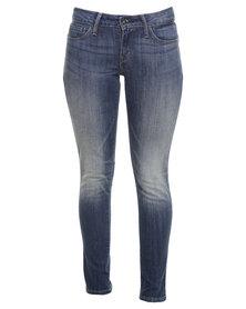 Levi's MD Bold Curve Skinny Jeans Blue