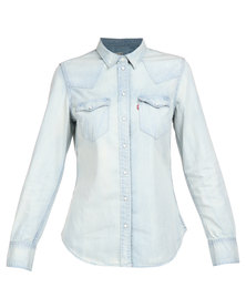Levi's ® Tailored Classic Western Shirt Light Blue