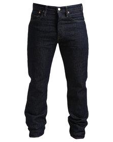 Levi's 501 Original Fit Jeans Rinse X Dark Blue