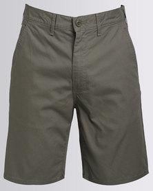 Levi's Straight Chino Short Dusty Green