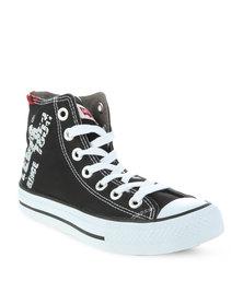 Levi's Dunk Hi 2 Nylon Sneakers Black