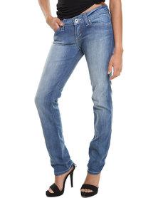 Low TC Demi Curve Straight Leg Jeans Blue