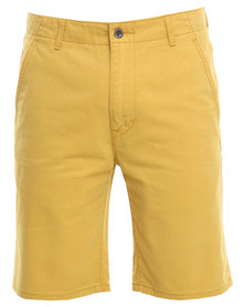 Levi's Chino Shorts Yellow