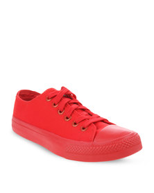 Levi's Dunk Pitch Lo Sneakers Red