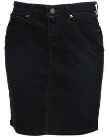 Levi's ® Workwear Pencil Skirt After Dusk Blue