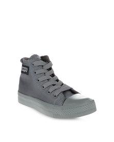 Levi's Dunk Pitch Hi Nylon Sneakers Grey
