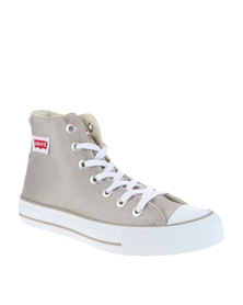 Levi's ® Dunk Pitch Hi Nylon Sneakers Beige