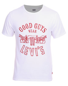 Levi's Good Guys Tee White