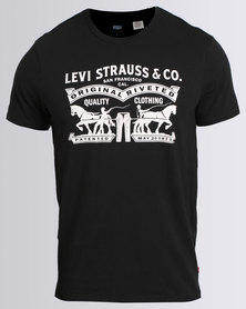 Levi's Graphic Tee Black