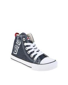 Levi's ® Dunk Hi 2 Dark Denim Sneakers Blue