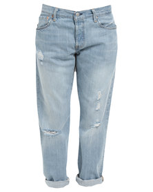 Levi's 501 CT Jeans Turbulent Indigo