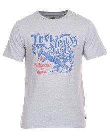Levi's Graphic Set in Neck Tee Grey