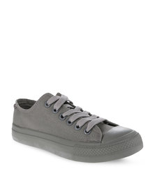 Levi's Dunk Pitch Lo Canvas Sneakers Grey