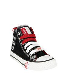 Levi's Dunk Hi Top Sneakers Black