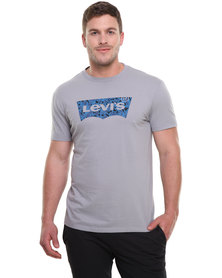 Levi's Graphic MD Standard Crew Neck Tee Grey