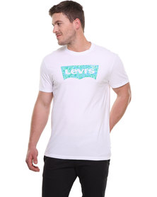 Levi's Graphic MD Standard Crew Neck Tee White