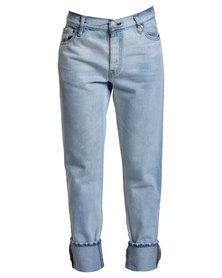 Levi's 501 CT Jeans Stonewash Blue