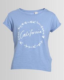 Levi's Marina California Laurel Tee New Blue