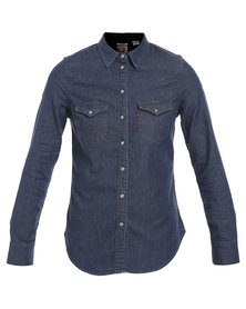 Levi's Tailored Classic Western Vintage Med Fall Blue
