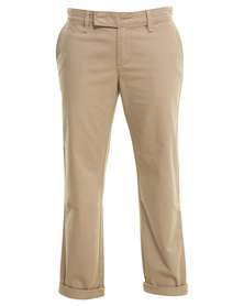 Levis Utility Taper Pants Brown