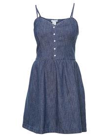 Levi's Slip Dress Blue
