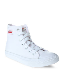 Levi's Dunk Pitch Hi Sneakers White
