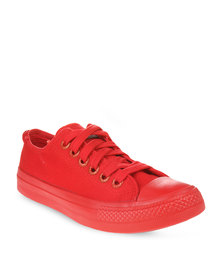 Levi's Dunk Pitch Lo Canvas Red