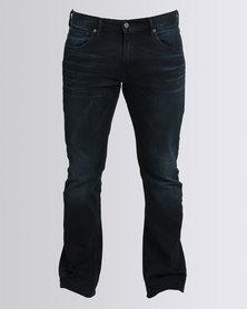 Levi's 527T Slim Boot Cut Scorpius Jeans Dark Blue