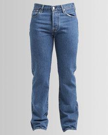 Levi's 501 Original Fit Stone Wash Jeans Blue