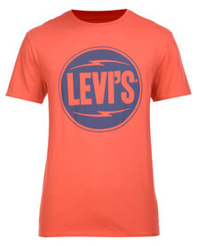 Levi's Graphic Set-in Neck T-Shirt Red