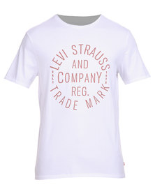 Levi's Graphic Set-in Neck T-Shirt White