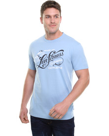 Levi's Graphic MD Standard Crew Tee Blue