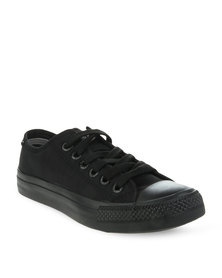 Levi's Dunk Pitch Lo Nylon Sneakers Black