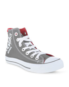 Levi's Dunk Hi 2 Nylon Sneakers Grey