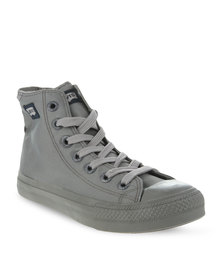 Levi's Dunk Pitch Hi Nylon sneakers Grey