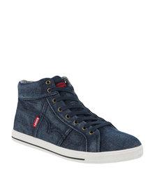 Levi's Kaya High Top Denim Sneaker Blue