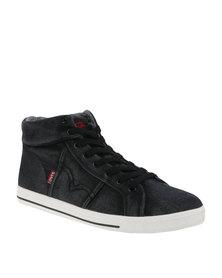Levi's Kaya High Top Denim Sneaker Black